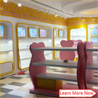 Costomized wooden no smellless painting nice colorful baby stores with lighting nhà cung cấp